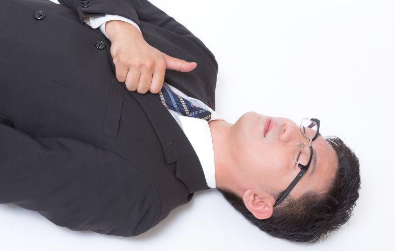 いびきをかき辛い寝方とは