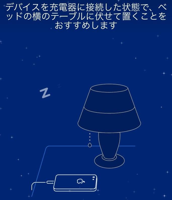いびきラボの就寝時使用方法